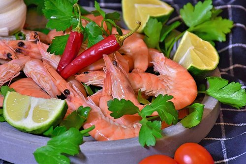 scampi  fish  shrimp
