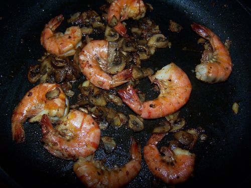 scampi cook eat