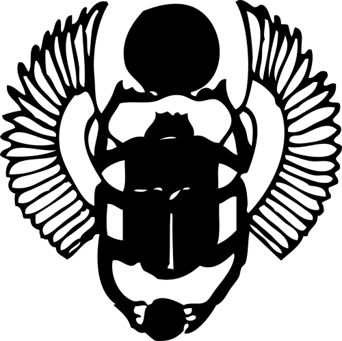 scarab black egyptian