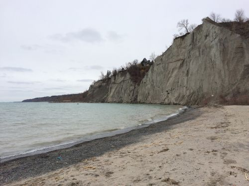 scarborough bluffs sand