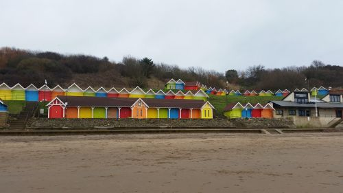 scarborough beach huts beach