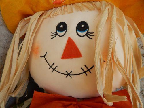 scarecrow doll face