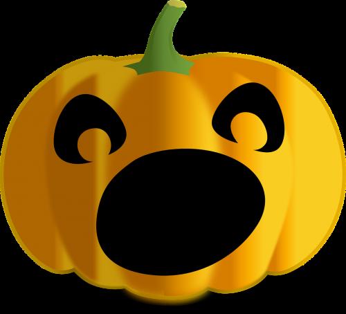 scared jack-o-lantern jack-o-lantern halloween