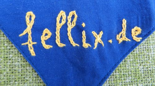 scarf embroidery font
