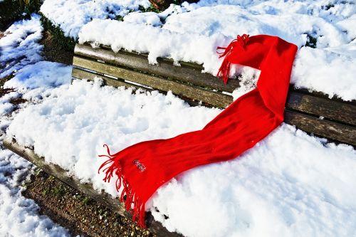 scarf red scarf woolen