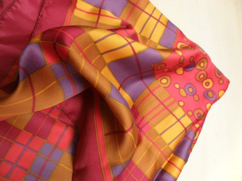 scarf colored printing