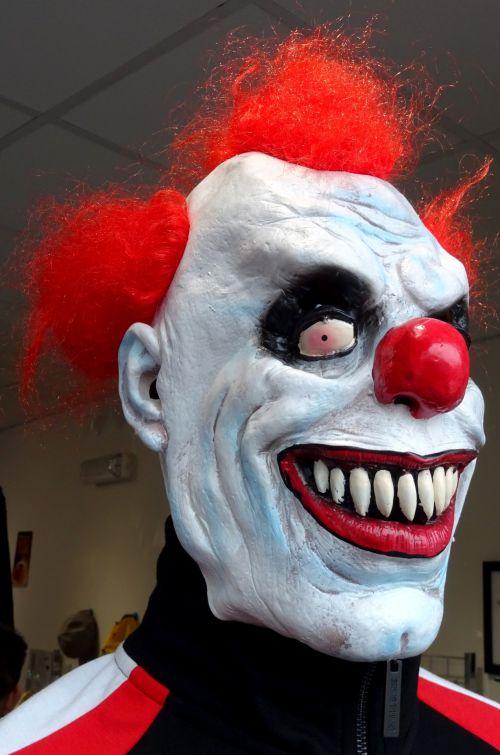 Scary Creepy Evil Clown