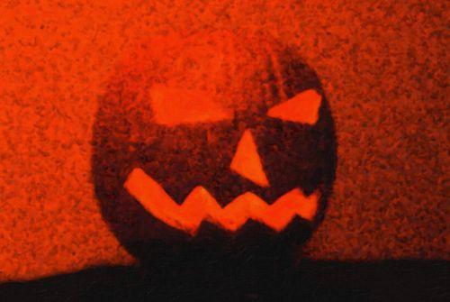 Scary Jack-o'-lantern
