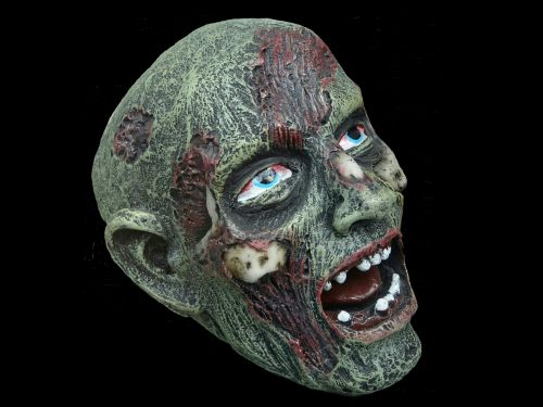Scary Zombie Monster Head