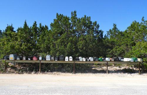 scenery mailbox postbox