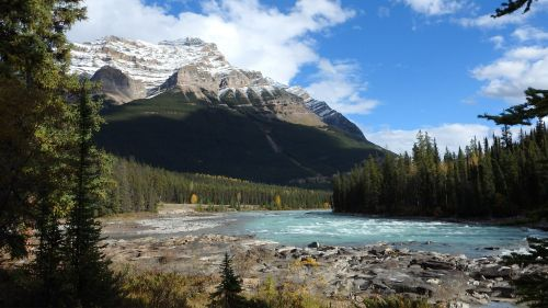 scenery rocky mountains canada