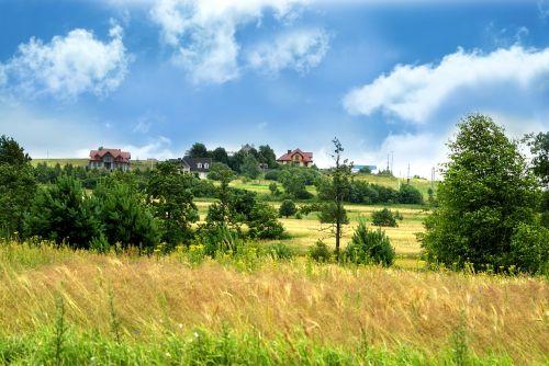 scenery kielce sky