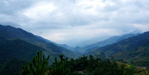 scenery north west mountains and hills