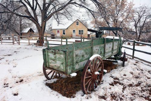 scenic winter snow