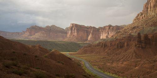 scenic landscape panorama