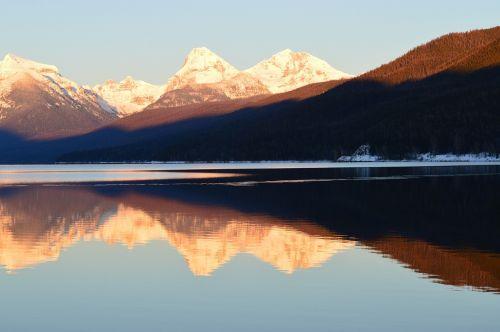 scenic landscape apgar mountains