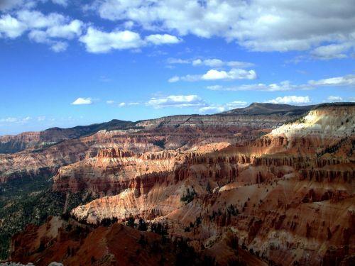 scenic landscape red rock