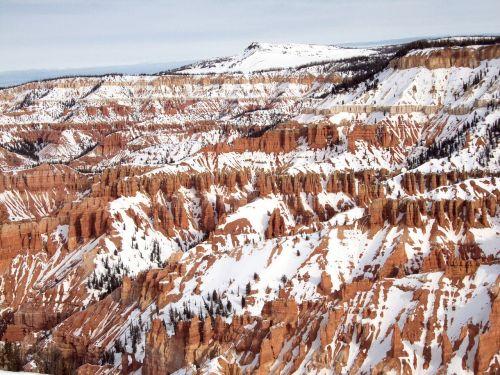 scenic amphitheater snow
