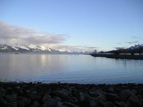 scenic alaska bay