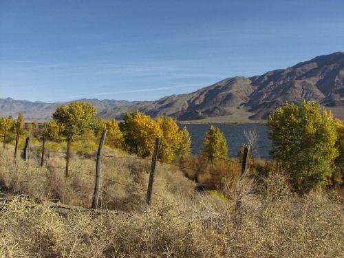 Scenic Autumn Lake