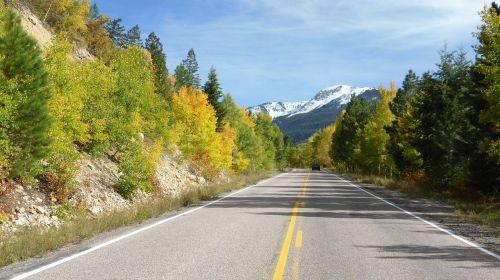 scenic highway scenic road 2-lane road