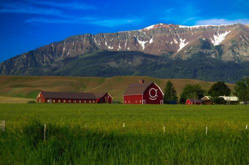 Scenic Mountain Landscape