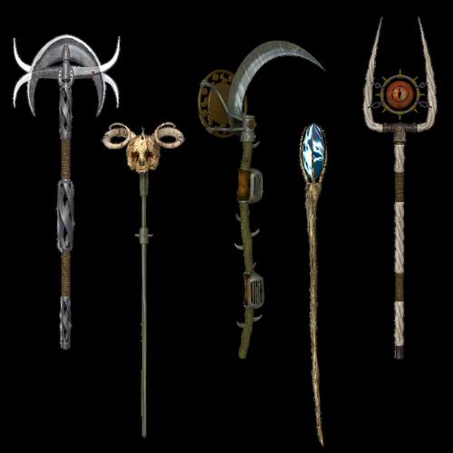 scepter  staff  stave