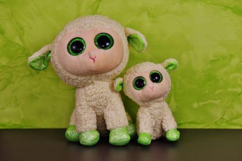 schäfchen plush toys glitter eyes