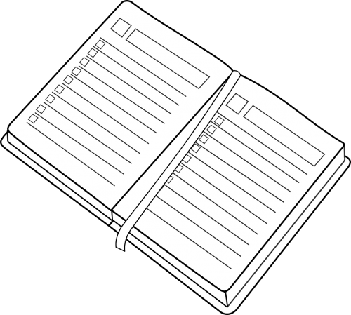 scheduler calendar notebook