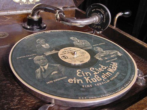 schell corner plate gramophone 78rpm