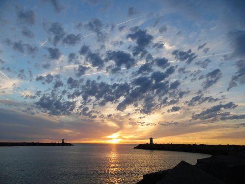 scheveningen port north sea