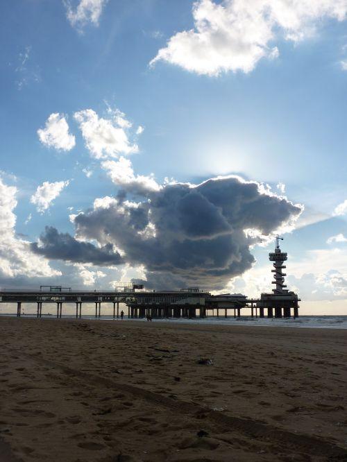 scheveningen beach coast