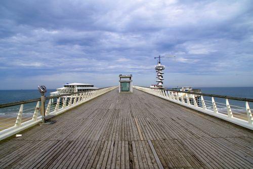 scheveningen bridge sea