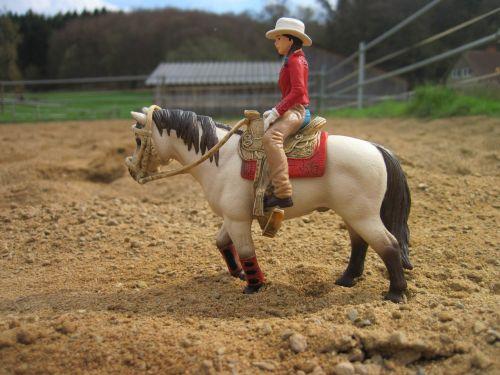 schleich horse horsewoman