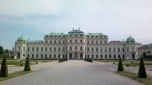schloss belvedere vienna belvedere castle