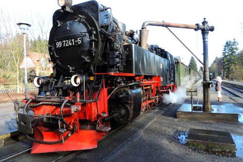 schmalspurbahn harzer loco train
