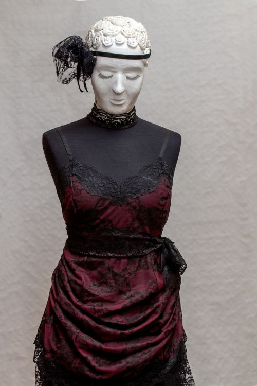 schneider doll portrait clothed