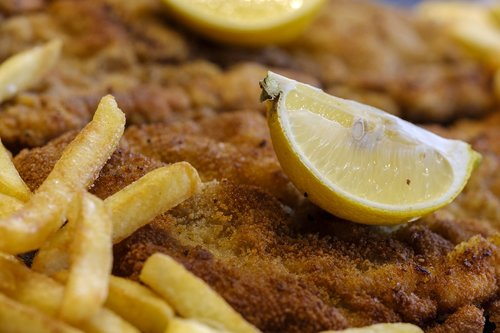 schnitzel  french  lemon