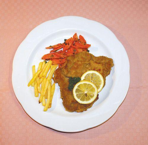 schnitzel eat restaurant