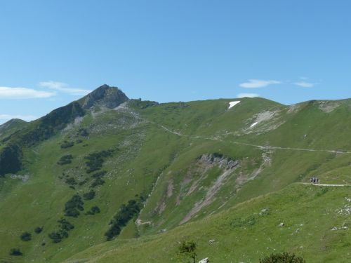 schochen top hike mountain hike