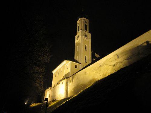 schongau germany ghost church city wall