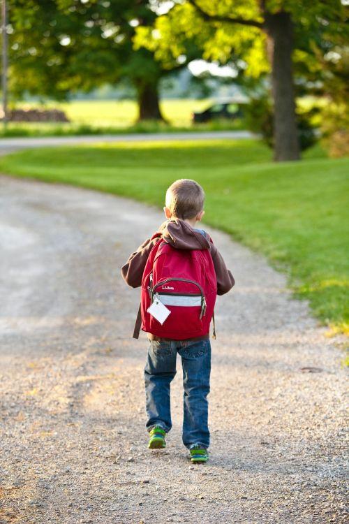 school backpack childhood