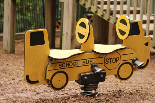 school school bus playground