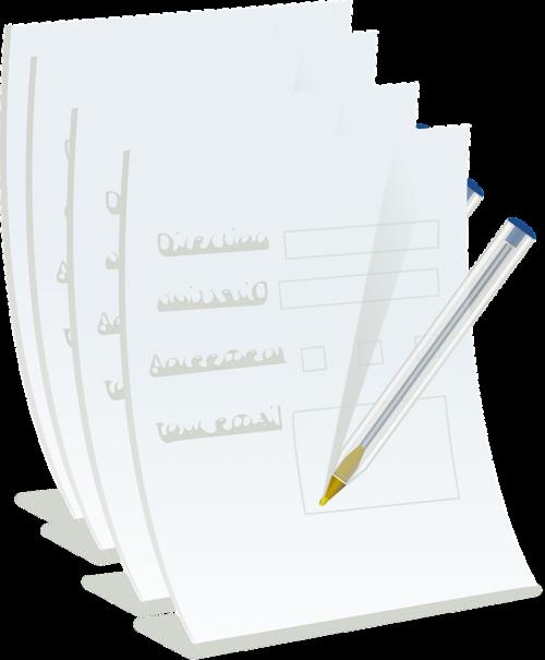 school pen papers