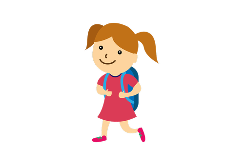school  girl  back to school