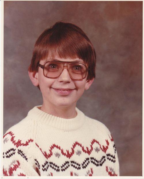 school boy nerd spectacles