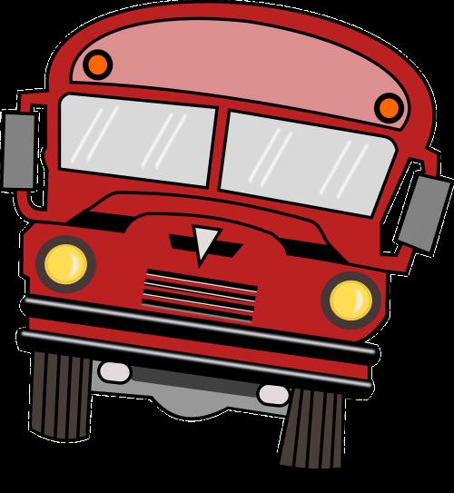 school bus bus cars