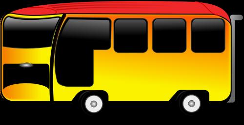 school bus coach automobile