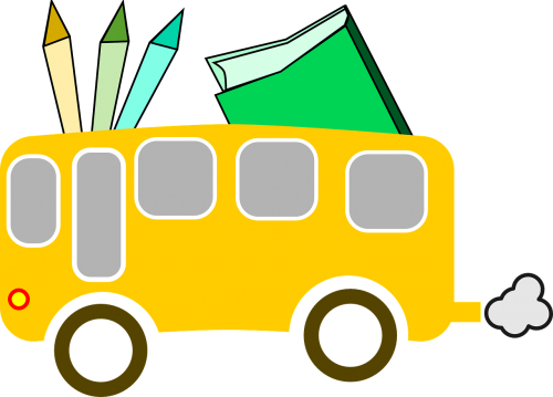 school bus school education