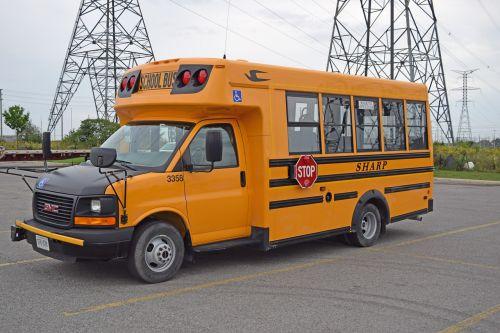 school bus bus orange